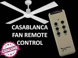 Casablanca Comfort Touch Ceiling Fan Design Genuine Logo Promotion Product Casablanca