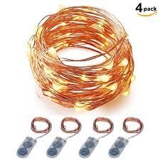 20 led micro lights battery operated micro led string lights battery powered itart set of 4 warm white
