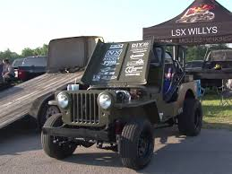 custom willys jeep video lsx willys jeep goes up against boostedgt in oklahoma lsx