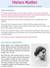 personality development course grade 2 lesson 21 helen keller 1