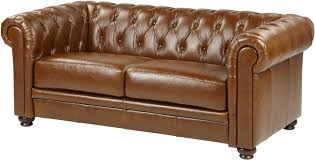 Ebay Chesterfield Sofa by Mortimer Medium 2 5 Seater Real Leather Chesterfield Sofa Tan