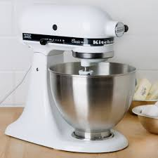 Kitchen Aid Mixers by Kitchenaid Ksm75wh White 4 5 Qt Countertop Mixer