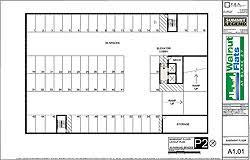 parking lot floor plan walnut flats