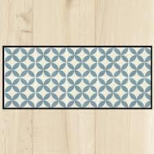 tapis de cuisine sur mesure paillasson de cuisine carreaux de ciment côté paillasson
