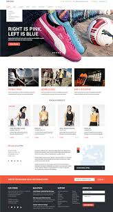 10 awesome free ecommerce website templates psd graphic design