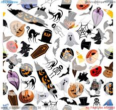 halloween repeating background patterns clipart of a seamless background pattern of halloween items