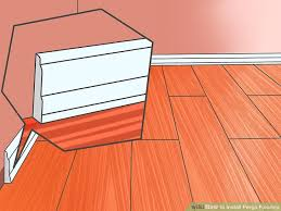 how to install pergo flooring 11 steps with pictures wikihow