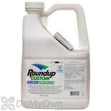 roundup custom aquatic terrestial herbicide 2 5 gal