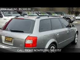 2004 audi a4 wagon for sale 2004 audi a4 1 8t avant quattro awd 4dr wagon for sale in bo