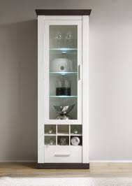 highboard weiss landhaus dreams4home vitrine