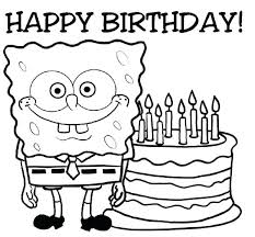 birthday coloring pages boy happy birthday coloring page coloring pages for birthdays happy