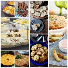 40 potato side dishes