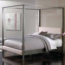 Metal Canopy Bed Frame Dania Bed Frame Image Of Cal King Canopy Bed Iron Queen Size