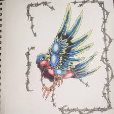 Barn Swallow Tattoo Designs New Swallow By Asartwork On Deviantart