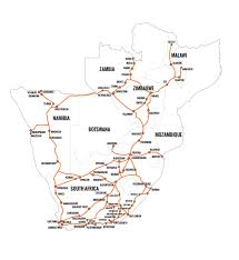 Namibia Map Guide To A Trip In Namibia How To Plan Your Fantastic Trip In
