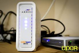 arris surfboard sb6183 lights arris surfboard sb6183 review cable modem custom pc review