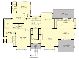 L Shaped House Plans by Allegro 5550 5 Bedrooms And 3 Baths The House Designers