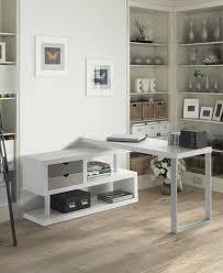 fran is bureau fran bureau pivotant 2t blanc a tiroirs couleur mobideal