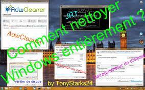 comment installer adwcleaner sur le bureau tuto hd comment nettoyer entièrement pc fr tonystarks24