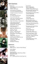 Beginner Makeup Artist Resume Make Up Artist Resume Example Littlecompared Gq