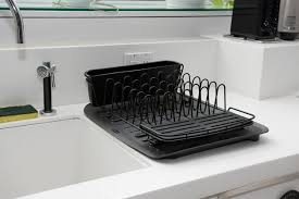 dish drainer for small side of sink the best dish rack reviews by wirecutter a new york times company