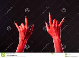 halloween music background red devil u0027s hands with black nails red hands of satan halloween
