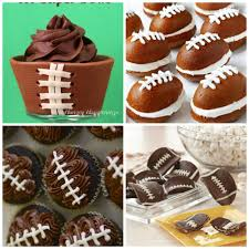 football cupcakes cookie footballs 28 fantastic football recipes for day