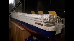 Radio Controlled Model Boat Plans Model Rc Ferry Ship North Sea Ferries