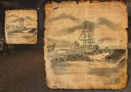 the rift ce treasure map lost treasure map coords compasses elder scrolls addons