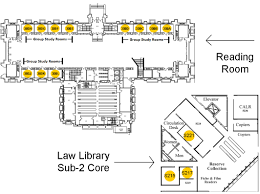 University Of Michigan Parking Map by Study Spaces The University Of Michigan Law