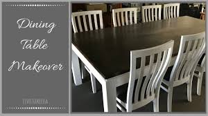 furniture makeover dining table youtube