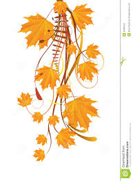 autumn ornament with maple leaves stock photos image 32981623