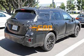 first subaru outback subaru outback next gen spied for the first time photos 1 of 8