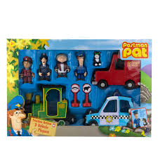 u0026m postman pat friction action 3 vehicle playset 271613 u0026m