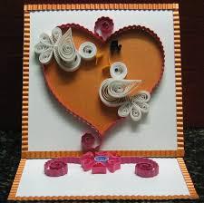 quilling valentines card diy craft pinterest quilling