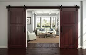 door interesting wooden sliding barn doors for home exterior