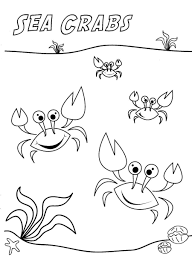 printable crab coloring pages coloring