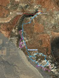 Map St George Utah by Guacamole Trail