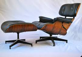 modren authentic eames lounge chair rosewood and ottoman herman