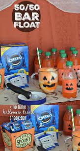 No Bake Halloween Treats by No Bake Halloween Treats Snack Bar With 50 50 Bar Floats A