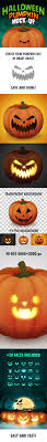 halloween long background halloween pumpkin face mock up by lil bro graphicriver