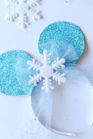 frozen headband disney easy frozen mickey ears headband see craft