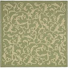 Green Outdoor Rug Safavieh Mayaguana Olive Green Natural Indoor Outdoor Rug 8 U0027 X