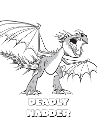 death dragon coloring pages
