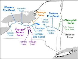 map of the erie canal navigating the canals york state canals