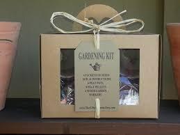 gift for gardener gardening kit beginner gardener indoor herb