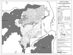 Map Of Ontario Field Township Conservation Reserve Management Statement Ontario Ca
