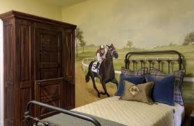 triple crown horse themed bedroom design dazzle