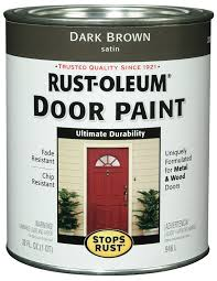 rust oleum 238311 door paint white 1 quart house paint