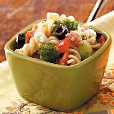 Cold Pasta Salad Recipe Hearty Pasta Salad For Two Recipe Taste Of Home